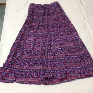 band of gypsies maxi skirt